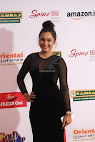 Vennela in Transparent Black Skin Tight Backless Stunning Dress at Mirchi Music Awards South 2017 ~  Exclusive Celebrities Galleries 034.JPG
