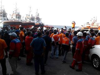 Capai Kesepakatan, Stop Operasi Awak Kapal Tunda dan Pandu  di  Pelabuhan Tanjung Priok Berakhir