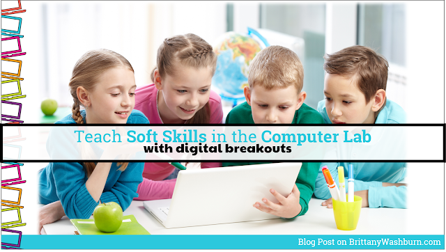 It might not come naturally to think about Social Emotional Learning and Tech Class together, but it is totally possible to integrate these two things. Digital Breakouts are the answer, and students are begging for more.