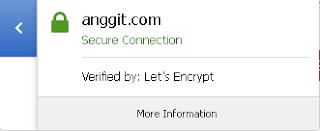 anggit.com menggunakan letsencrypt