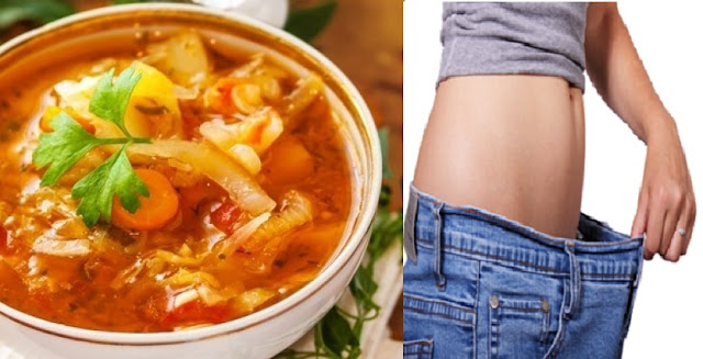 How To Lose 10-17 Pounds With This Delicious Fat-Burning Soup In Just 1 Week