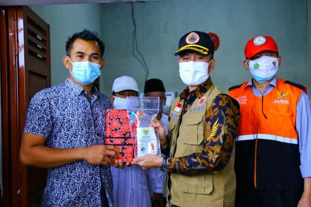 Penuhi Logistik Korban Banjir, Hartopo Salurkan Paket Bantuan