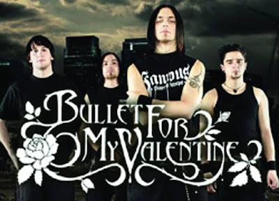 Biografi Bullet for My Valentine   Sejak berdirinya pada 2003, kuartet Welsh Bullet for My Valentine telah mengambil isyarat dari '80 an band-band metal dan punk-infused logam milenium baru untuk membuat melodi, batu gelap dengan, yah, kecenderungan logam. Berasal dari Bridgend, South Wales - berkembang biak bagi para likeminded Funeral for a Friend dan Lostprophets - band terdiri dari teman-teman masa kecil Matius Tuck (vokal / gitar), Michael Padget (gitar / vokal), Jason James (bass / vokal) , dan Michael Thomas (drum). Setiap orang dalam band, kecuali Yakobus, telah melakukan bersama-sama selama beberapa tahun di Jeff Killed John, ketika hari sebelum masuk studio rekaman, tiba-tiba bassis mereka berjalan keluar.   Berkumpul kembali di bawah nama baru Bullet for My Valentine dengan James pada papan, orang orang ulang suara mereka dan telah ditandatangani pada pertunjukan kedua mereka oleh London's Visible Noise. Mereka merilis EP berjudul diri di Inggris pada November 2004, dan mereka debut full-length, The Poison, tampaknya musim gugur mendatang. Mei 2005 melihat tanda band yang berbasis di Trustkill, kembali merilis EP, berjudul Hands of Blood, pada bulan Agustus. Tahun yang sama mereka memenangkan Kerrang! 'S Best British Newcomer Award dan judul majalah tur XXV. Dengan Februari 2006