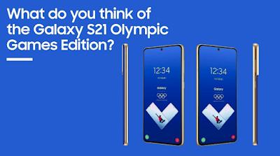 """Samsung ร่วมสนับสนุนการแข่งขัน """"Olympic Tokyo 2020""""  เปิดตัวสมาร์ทโฟน  GalaxyS21 5G Tokyo 2020 Athlete รุ่นพิเศษ พร้อมมอบให้ทัพนักกีฬาที่เข้าร่วมการแข่งขัน"""