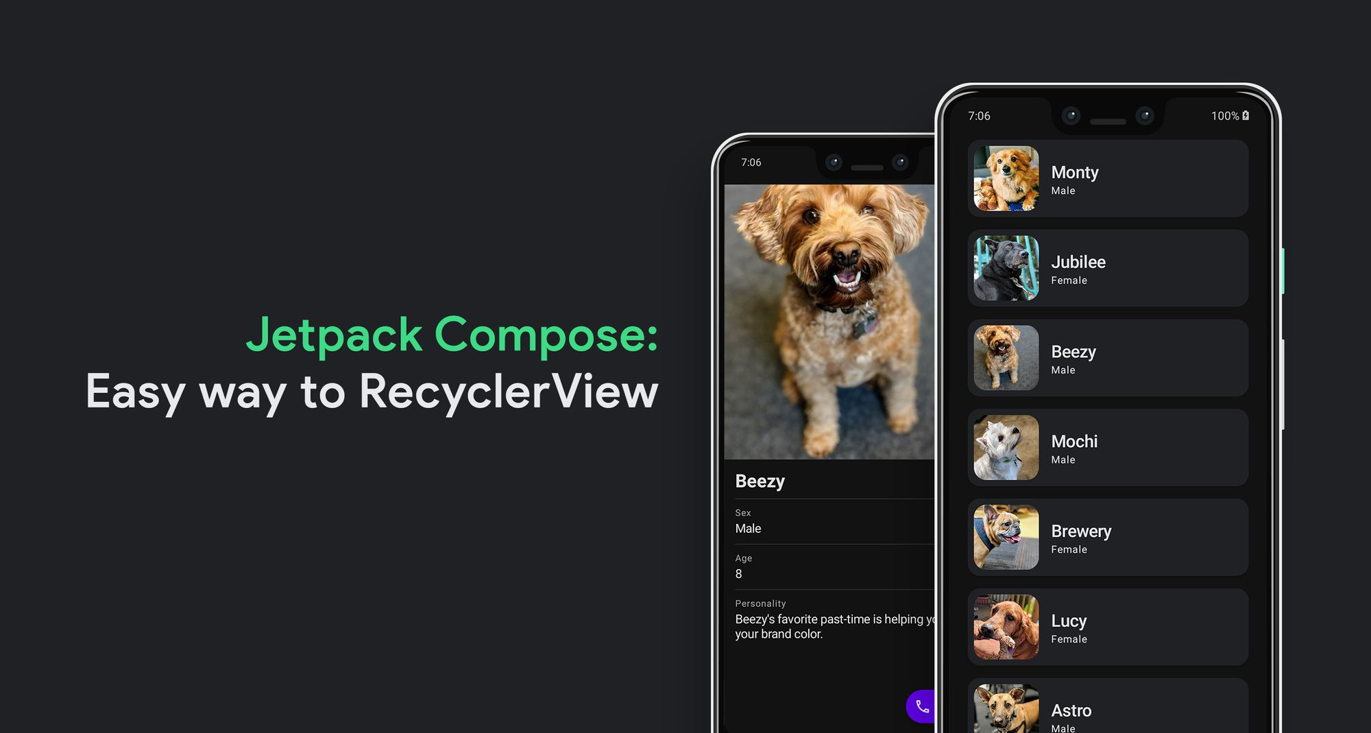 How to Create Recycler View in Jetpack Compose