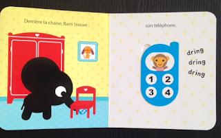 Barri cherche son doudou - découverte téléphone