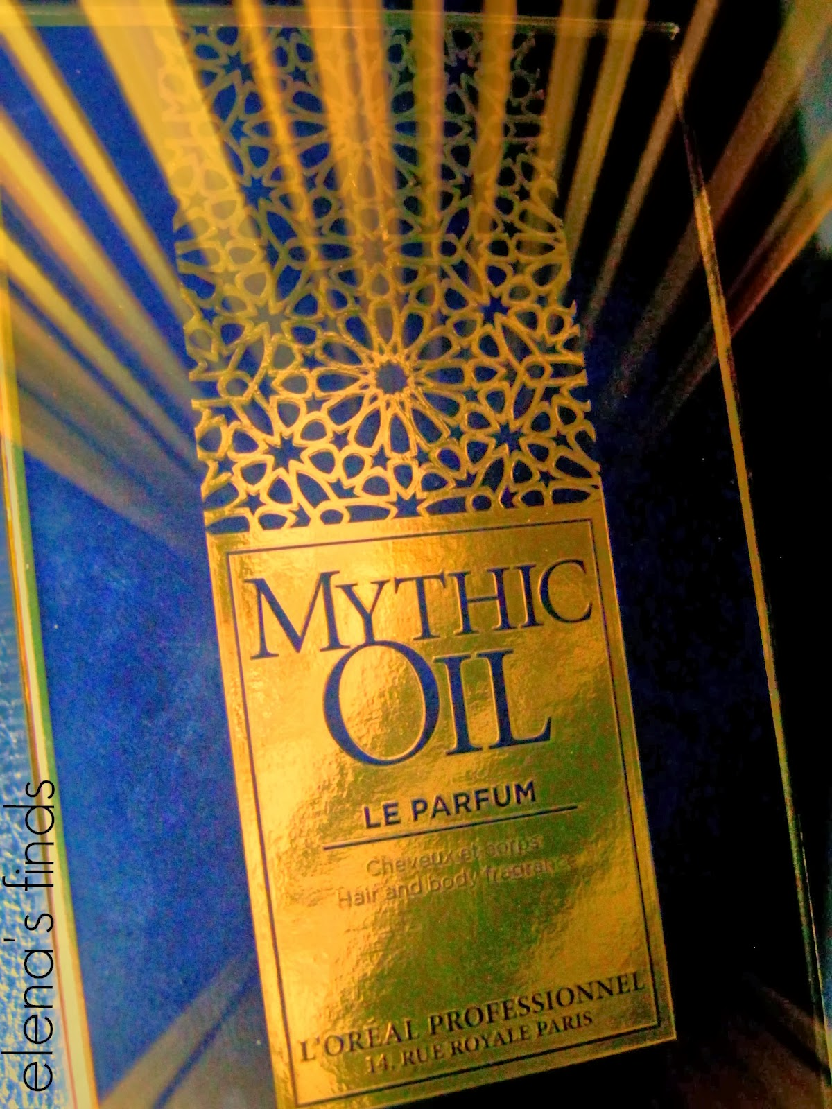 MYTHIC OIL LE PARFUM by L Oréal Professionnel✿Review  b771726f502