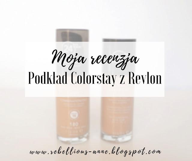 Moja recenzja - podkład Colorstay z Revlon