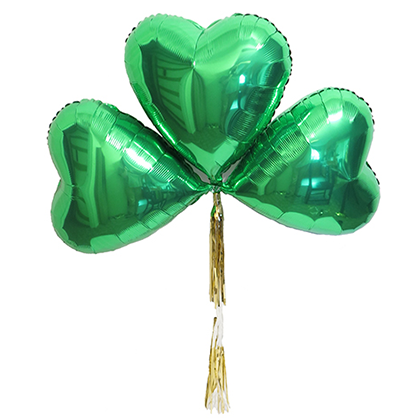 Lucky Clvoer Balloon by Love. Luck. Kisses & Cake  |  LLK-C.com