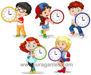 Soal Online Bahasa Inggris Telling Time, Days, and Months dan Kunci Jawaban