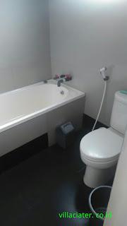 kamar mandi villa di ciater subang