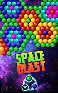 Game Bubble Space Bash Apk