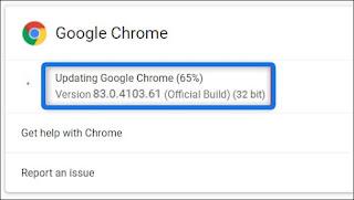 Cara Update Google Chrome Ke Versi Terbaru Secara Otomatis