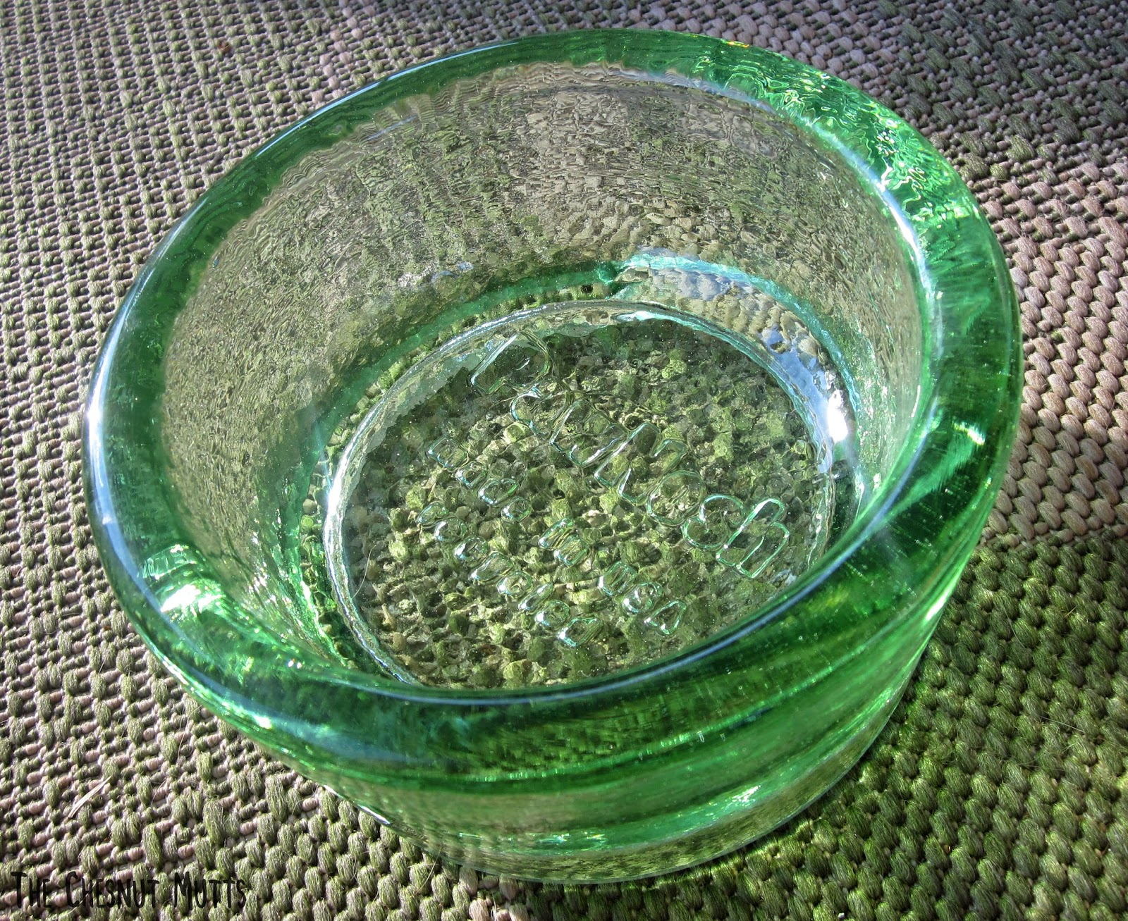 a beautiful recycled glass bowl from pawnosh