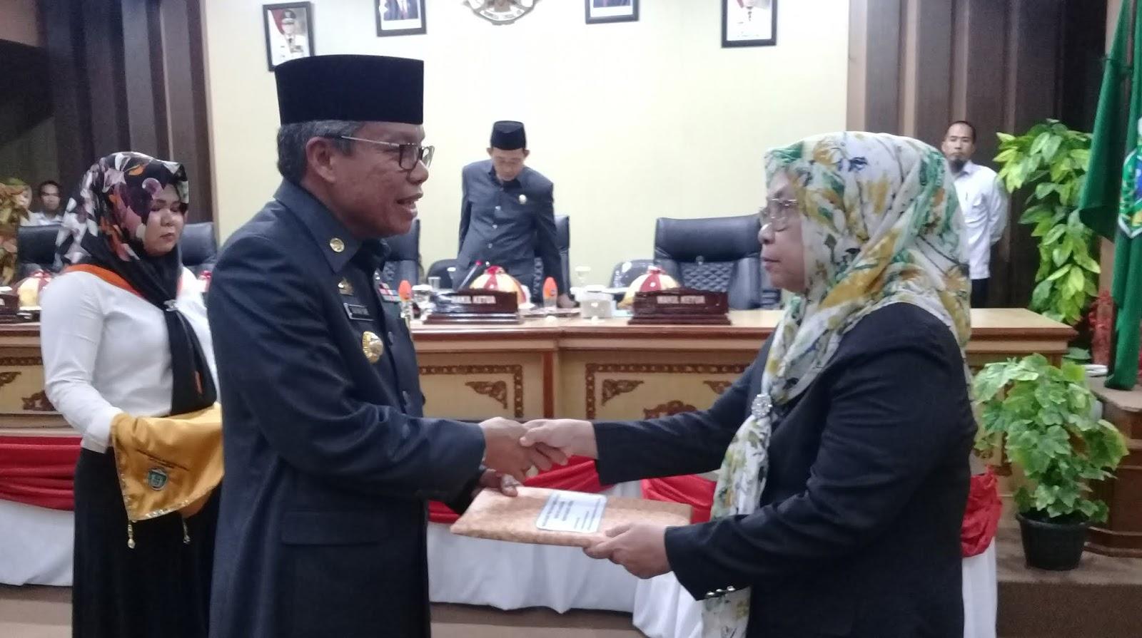 DPRD Parepare Gelar Rapat Paripurna Penyerahan Tiga Rancangan Perda Inisiatif