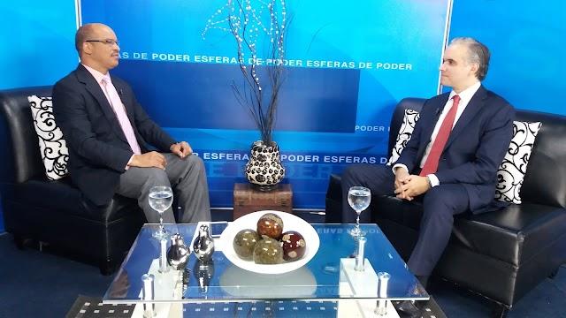 Luis Miguel De Camps, presidente del Partido Revolucionario Social Demócrata cita retos principales del gobierno del presidente electo Luis Abinader.