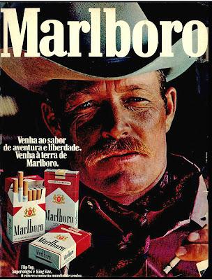 Malboro cigarettes in the 70s. propaganda cigarros Malboro - 1975.  propaganda anos 70; história decada de 70; reclame anos 70; propaganda cigarros anos 70. Brazil in the 70s; Oswaldo Hernandez;