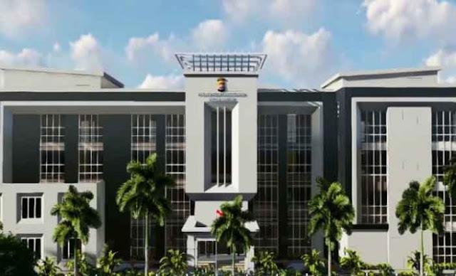 Polres Kota Tangerang Melaksanakan Groundbreaking Pembangunan Gedung Baru