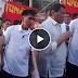 Watch: President Duterte, personal na hinarap ang mga raliyista sa Mendiola