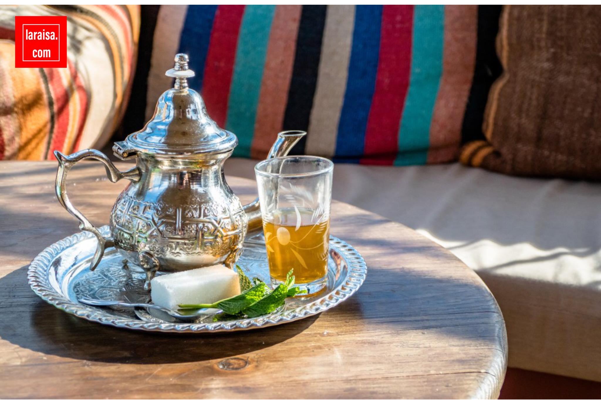#طريقة_إعداد_الشاي_المغربي