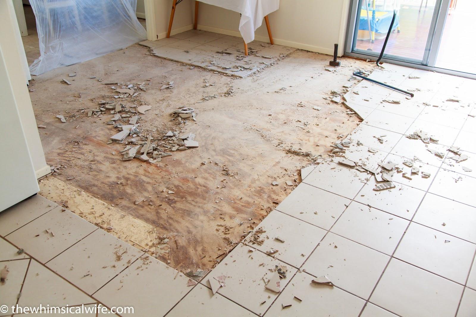 Floor Makeover Installing Australiana Blackbutt Wooden