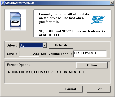 formatter silicon power exe free download