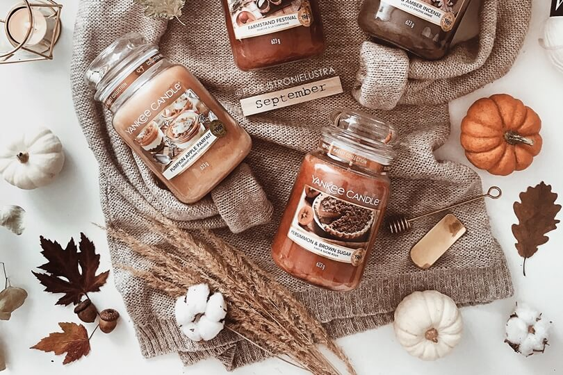 yankee candle persimmon and brown sugar zapach 2019
