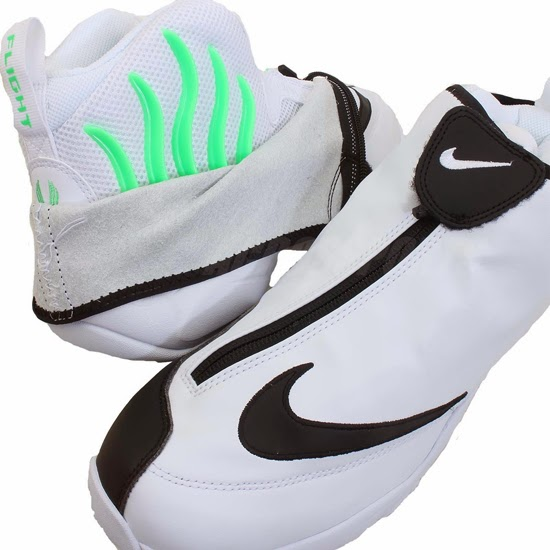 9aa6db575060d ajordanxi Your  1 Source For Sneaker Release Dates  Nike Air Zoom Flight  The Glove SL White Black-Poison Green Available Early On eBay