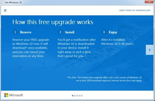 get Windows 10 app reserve upgrade