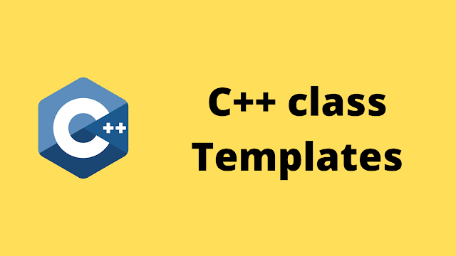 HackerRank C++ Class Templates solution