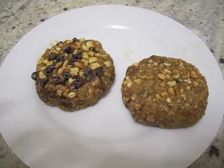 Cookies sans cisson au beurre de cacahuètes