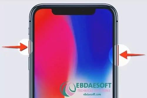 كيفية تصوير الشاشة على iPhone X و iPhone XS و iPhone XR