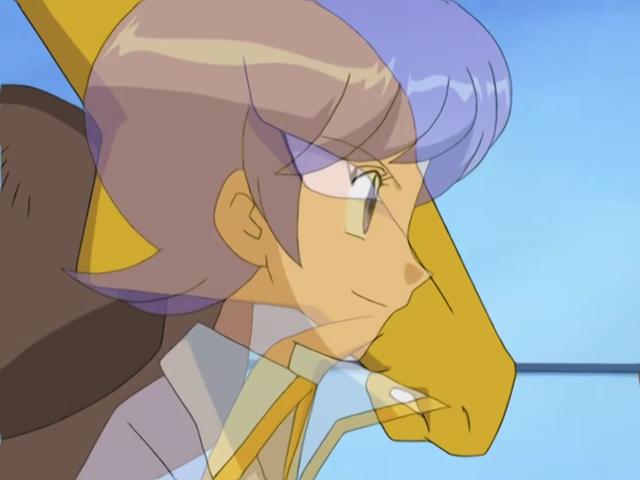 Anabel e Alakazam Anime