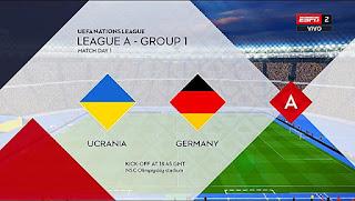 UEFA Nations League 2020 Scoreboard PES 2017
