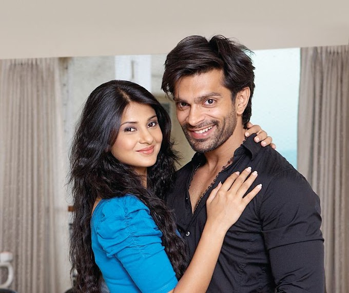 Actor Karan Singh Grover Wife Actress Jennifer Winget