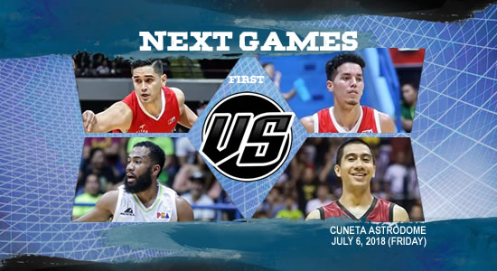 List of PBA Games: July 6 at Cuneta Astrodome 2018 PBA Commissioner's Cup