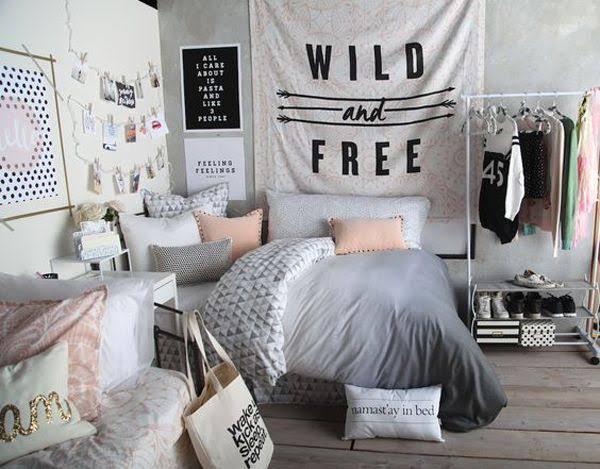 Black And White Teenage Bedroom Ideas Home Design Ideas