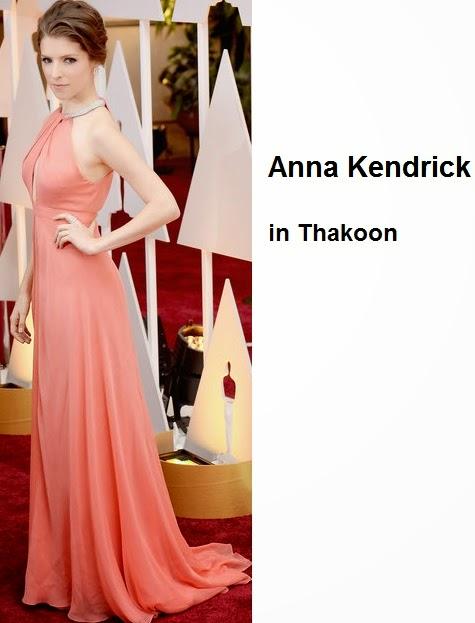 Anna%2BKendrick%2Bin%2BThakoon - Look Óscares 2015