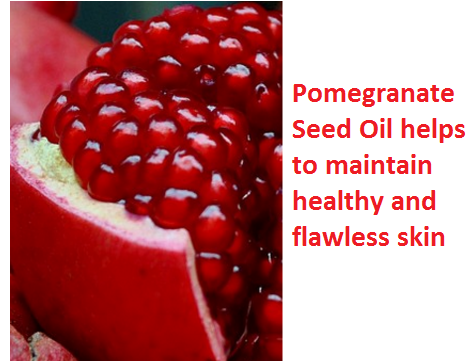 Health Benefits And Uses Of Pomegranate Seed Oil - Pomegranate Seed Oil helps to maintain healthy and flawless skin