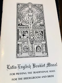 "Booklet Missals for ""Latin Mass"" EF Weddings"