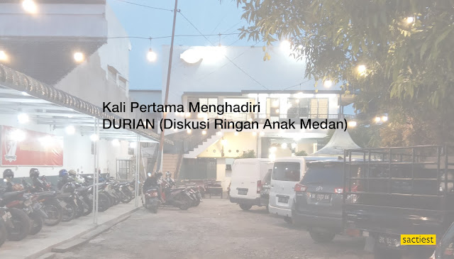 Cerita kali pertama menghadiri kegiatan Diskusi Ringan Anak Medan dari Komunitas Blog M Blogger Medan.