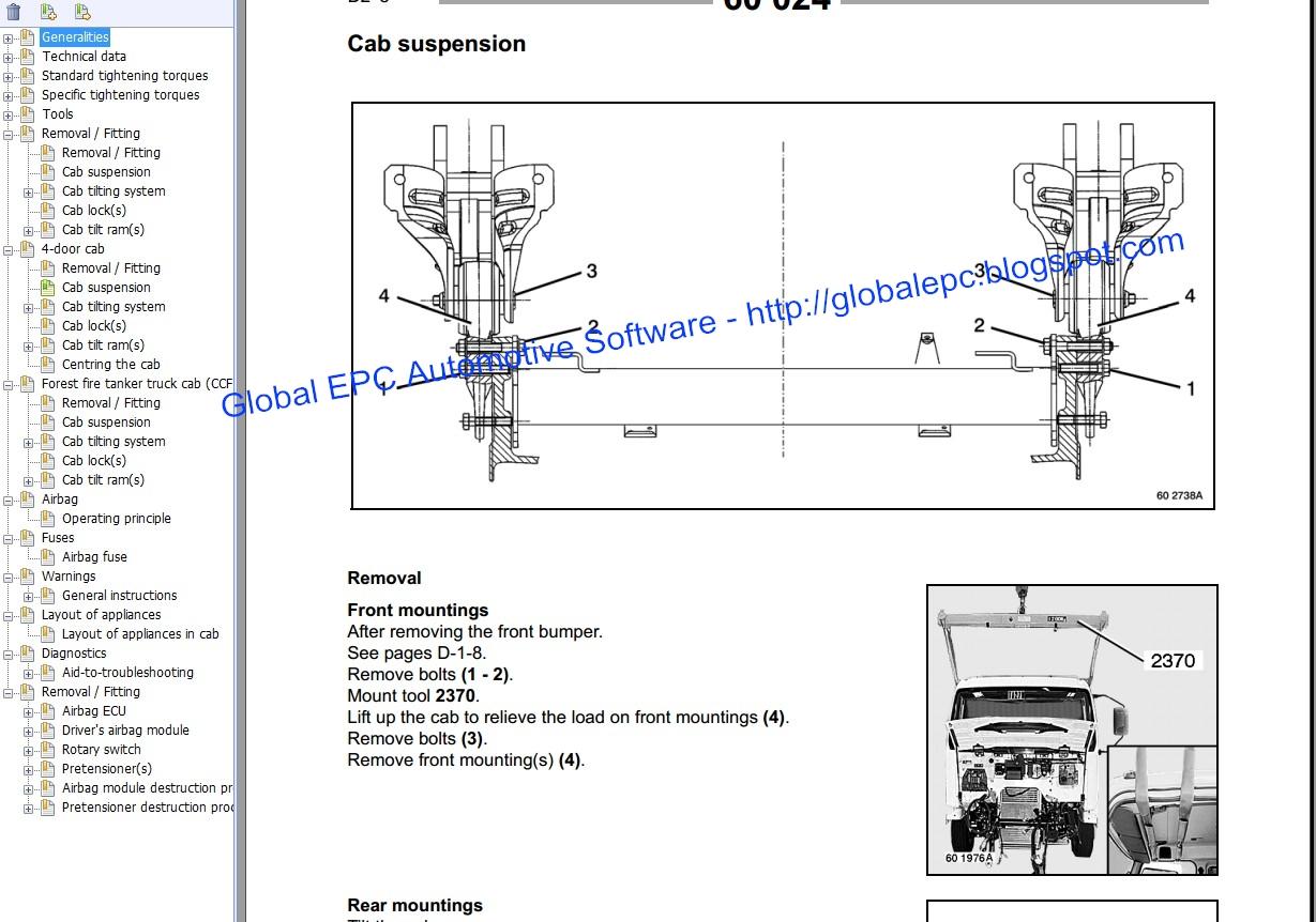 global epc automotive software renault midlum workshop service mix renault midlum workshop service manuals and wiring [ 1229 x 862 Pixel ]