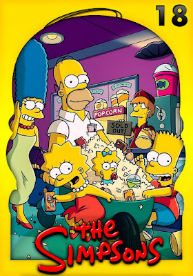 The Simpsons (TV Series) S18 DVD R1 NTSC Latino 4DVD