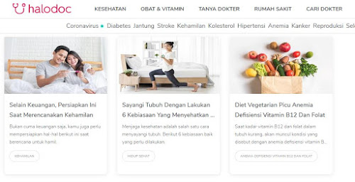 Blog atau website kesehatan