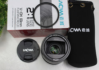 Laowa v-dx 60mm f2.8  2:1 for canon