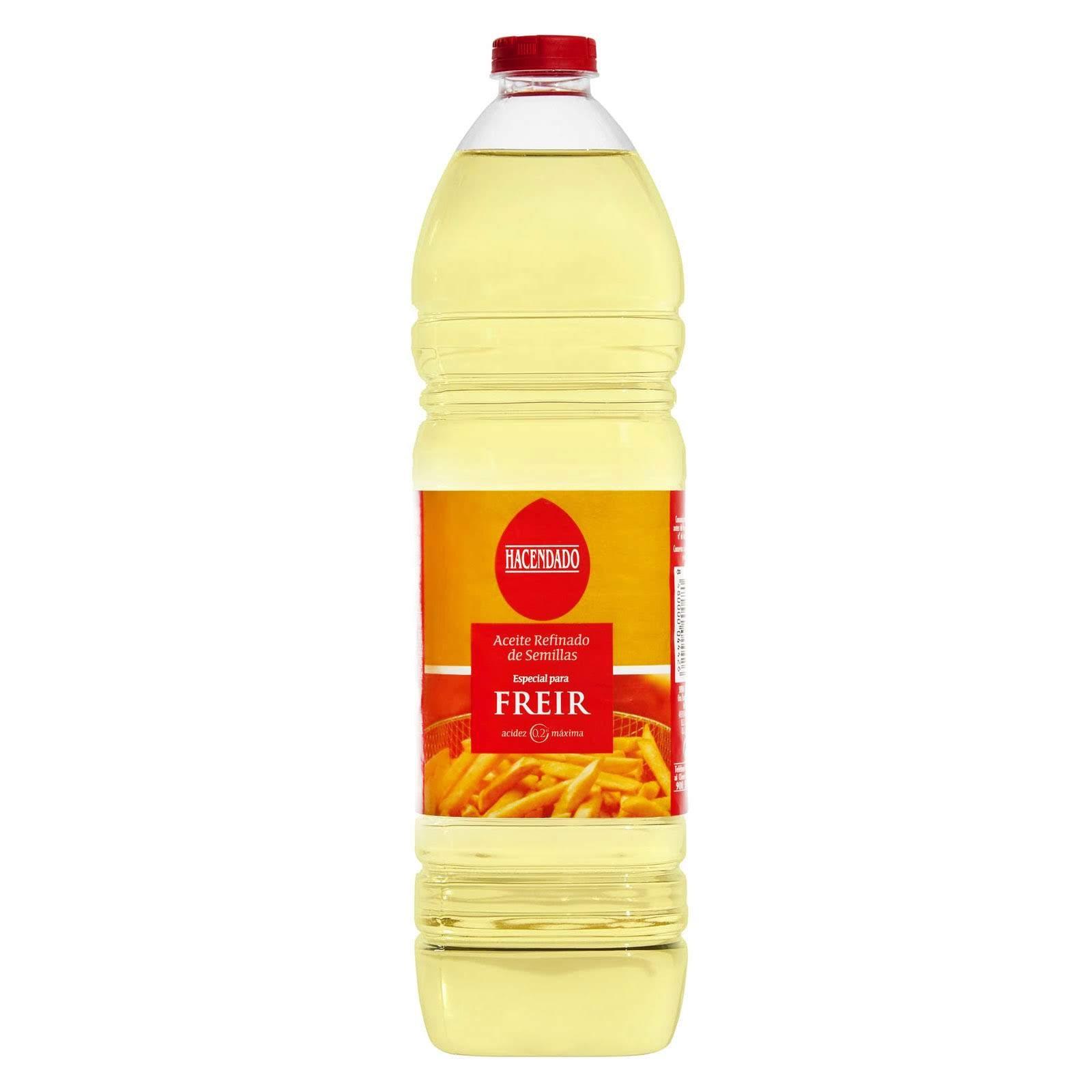 Aceite refinado de semillas Hacendado