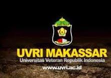 Info Pendaftaran Mahasiswa Baru ( UVRI-MAKASSAR ) 2019-2020 Universitas Veteran Republik Indonesia Makassar