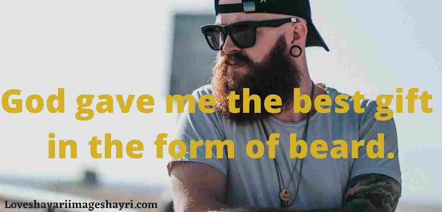 beard shayari in english.