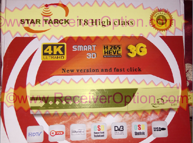STAR TRACK T8 HIGH CLASS HD RECEIVER ORIGINAL FLASH FILE