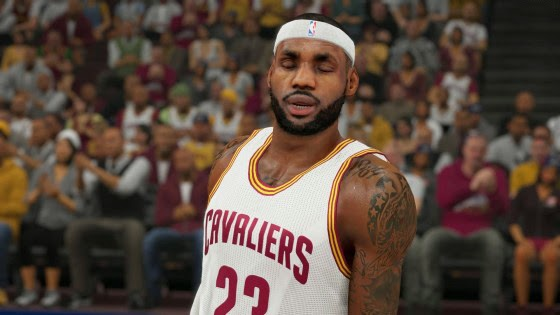 NBA 2K15 Roster Update LeBron James Rating